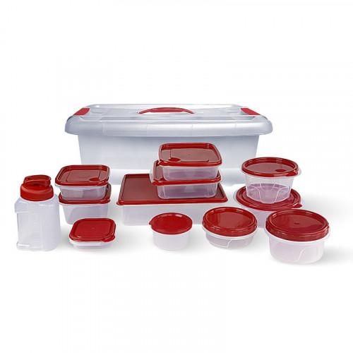 Set de 26 piezas de toppers para comida