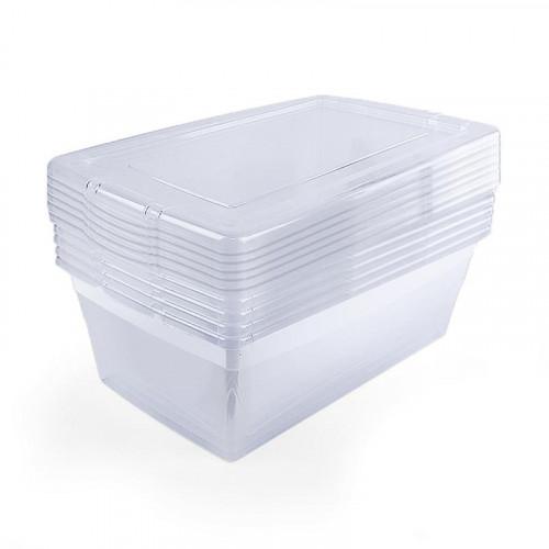 Set de 6 cajas organizadoras