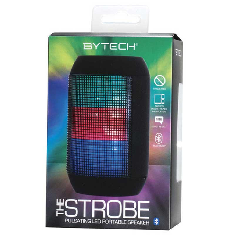 Bocina Bluetooth Strobe