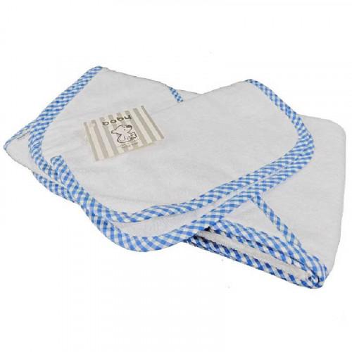 Toalla de baño Azul Ibiza para bebé