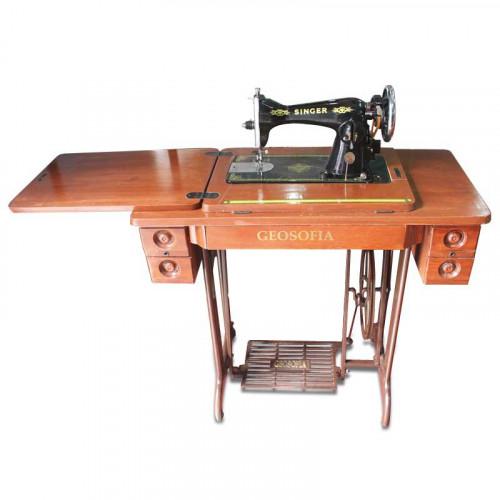 Máquina Negrita para Sastrería y Costurería Singer