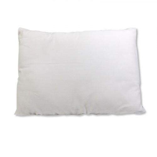 Almohada pequeña con velo blanco para bebé