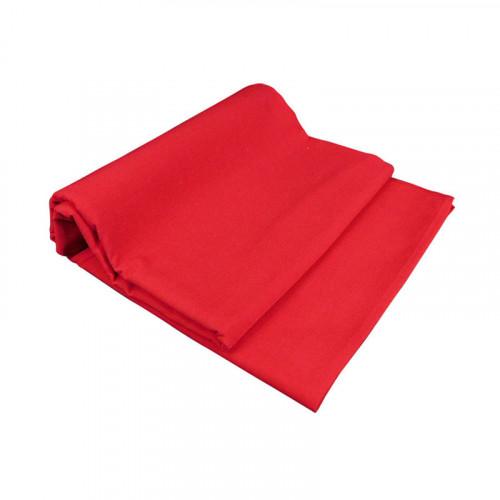 Mantel Rectangular Supratel Rojo Para 12 Personas
