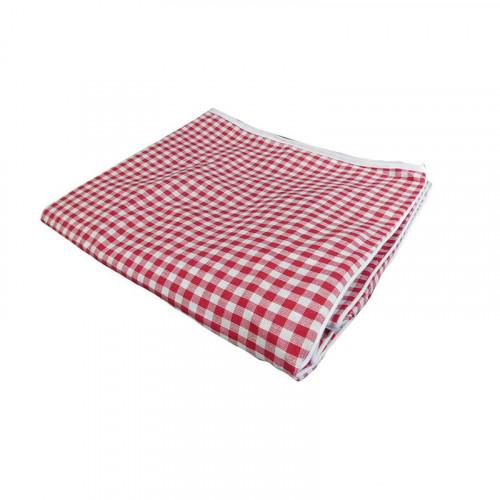 Cobertor De Tela Rojo Navideño Para Lavadora