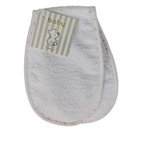 Portababas de toalla con estampado puntos