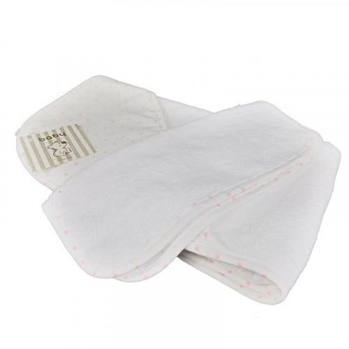 Toalla de baño con estampado puntos para bebé