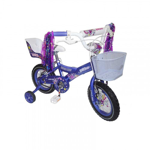 Bicicleta Star con Canasta y Portamuñeca